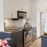 brass kitchen pulls rooms to go islands get the look cabinet kitchn find similar