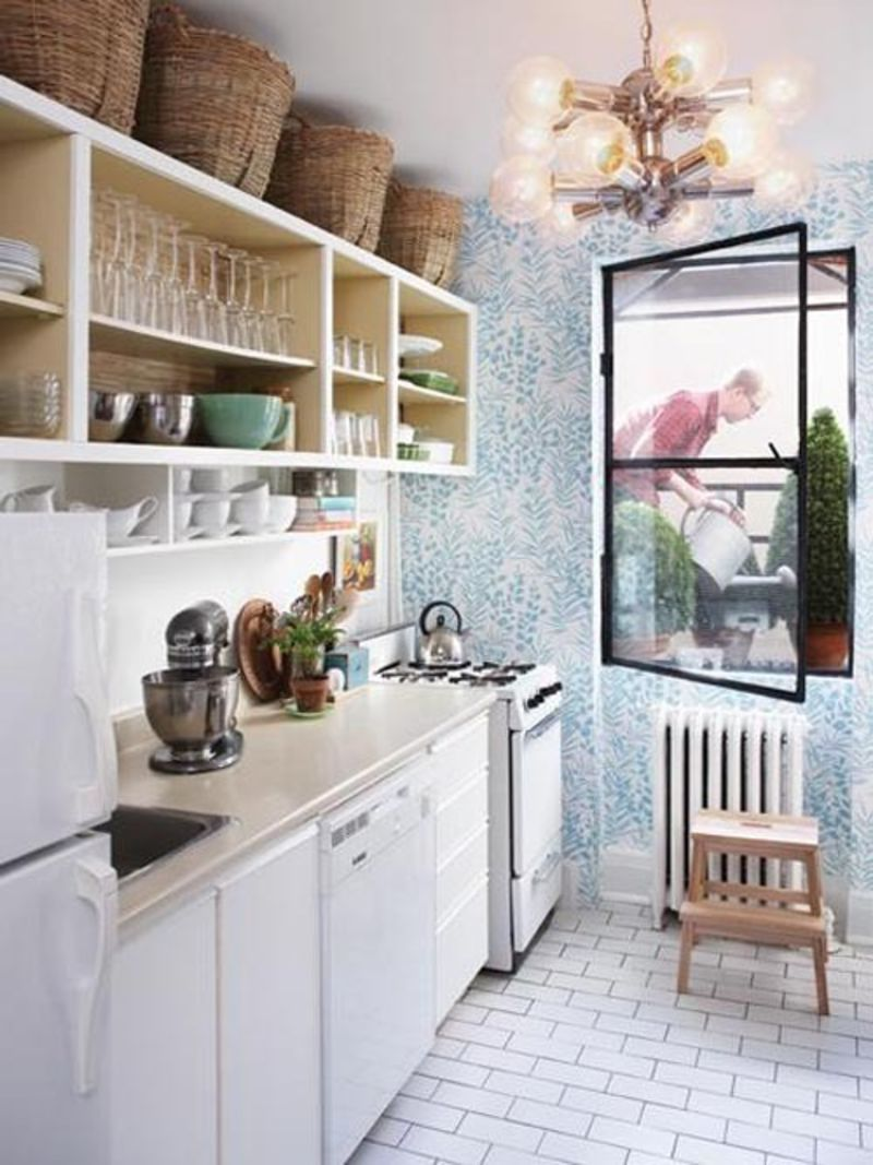 storage cabinets kitchen vanity small put baskets above the kitchn last fall i had an epiphany and bought three 12 by 10 to serve as extra my they two purposes