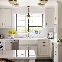 Kitchen Pulls Countertop Shelf Get The Look Brass Cabinet Kitchn Following Range In Price From 5 To 15 And They Re A Good Starting Point If You Want Try This Out Your Own