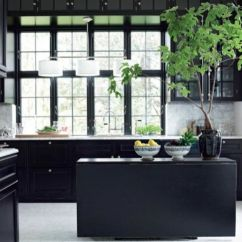 Kitchen Black Cabinets Vintage Appliances 10 Kitchens With Dramatic Kitchn