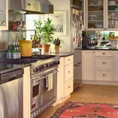 Rugs For Kitchen Design Charlotte Nc Would You Put An Antique Or Oriental Rug In Your Kitchn Our Reasons Loving Oushaks Kilims A Are That They Don T Show Dirt Too Much Pattern Add Beautiful Texture And Color