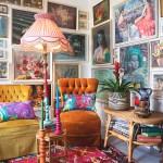 Vintage Maximalist Bohemian Australia Home Tour Apartment