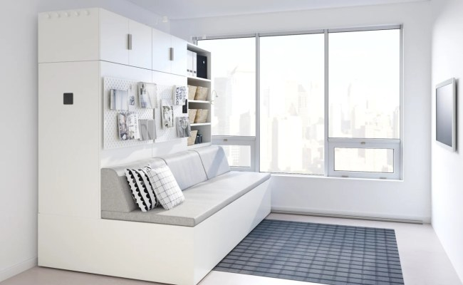 Ikea S Latest Small Space Furniture Line Is Robotic