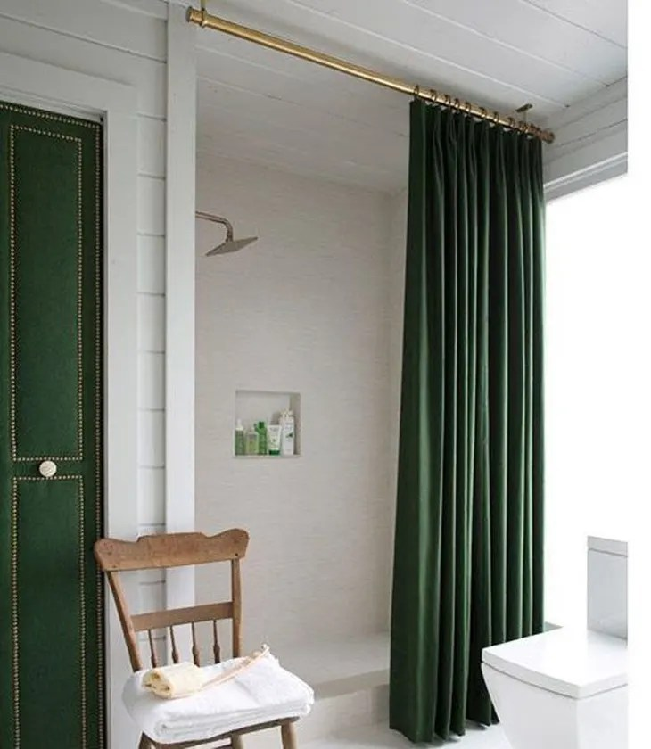 clever ways to use curtain hardware