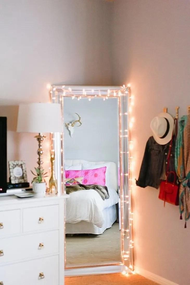 nine creative ways to use string lights