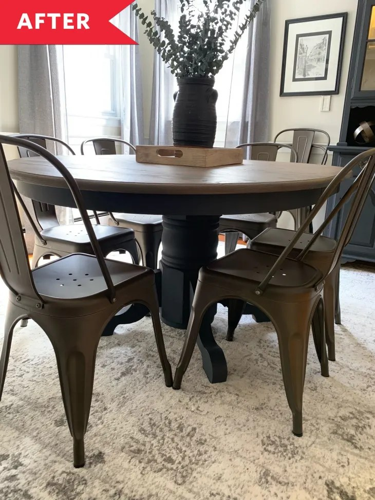 Painted Dining Room Furniture Redo Apartment Therapy