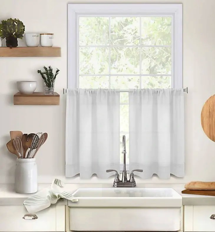 shoppable cute cafe curtains for your