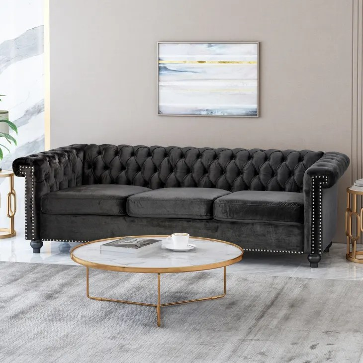 The Best Velvet Sofas of 2021   Apartment Therapy