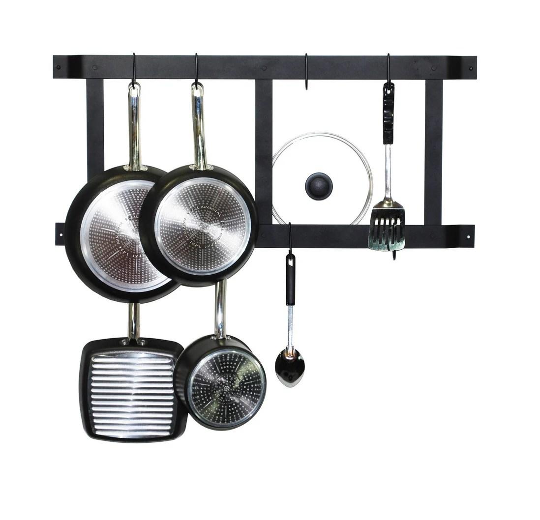 10 wall mounted pot racks under 100