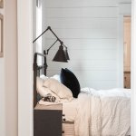 Bedroom Decorating Idea Stylish Bedside Wall Sconces Apartment Therapy