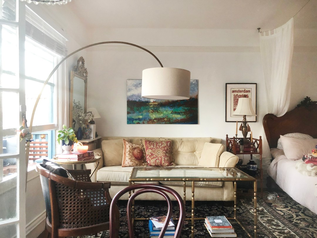 Get the Look: A SF Studio with Classic Pieces