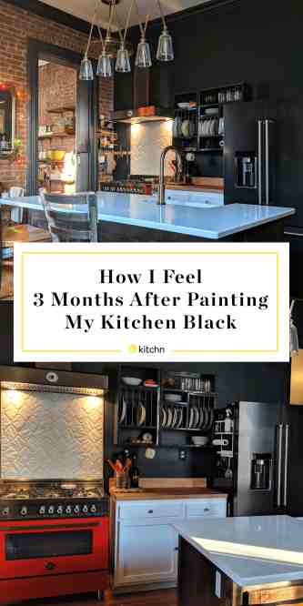 I Painted My Kitchen Black Here S My Review Kitchn