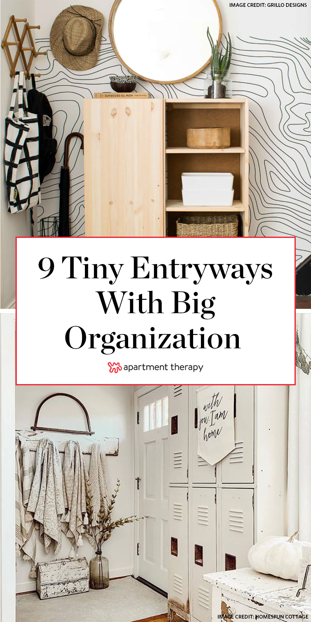storage ideas for small entries smart