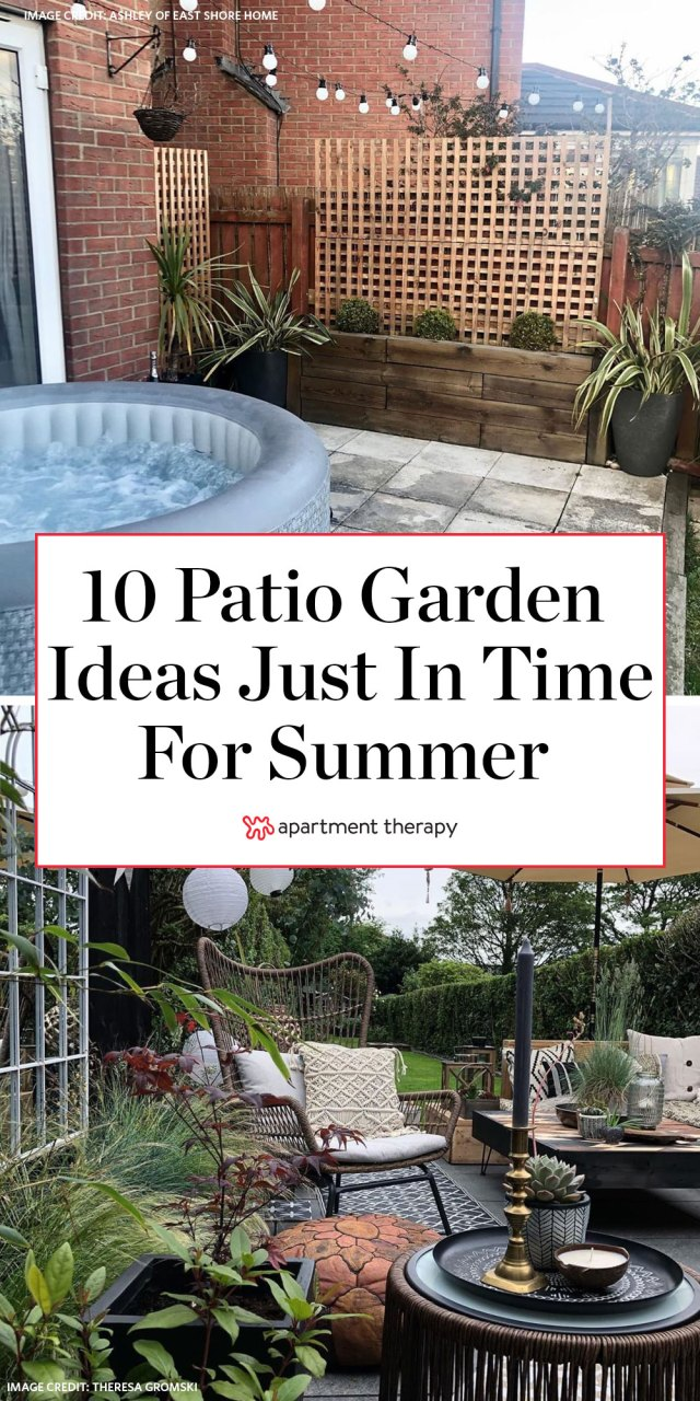 10 Patio Garden Ideas How To Grow Plants On A Small Porch Apartment Therapy