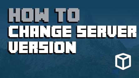 minecraft server change version apex hosting dashboard