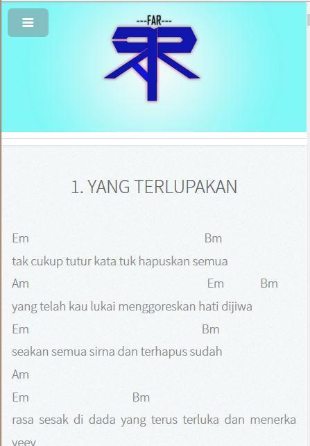 Kunci Lagu Dhyo Haw Jarak Dan Kita : kunci, jarak, Chord, Download, Android, Entertainment