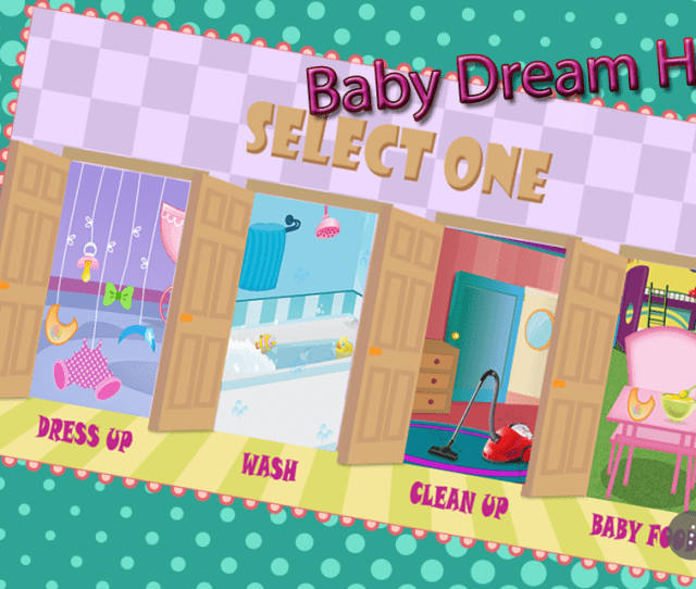 My Dream House Baby Game