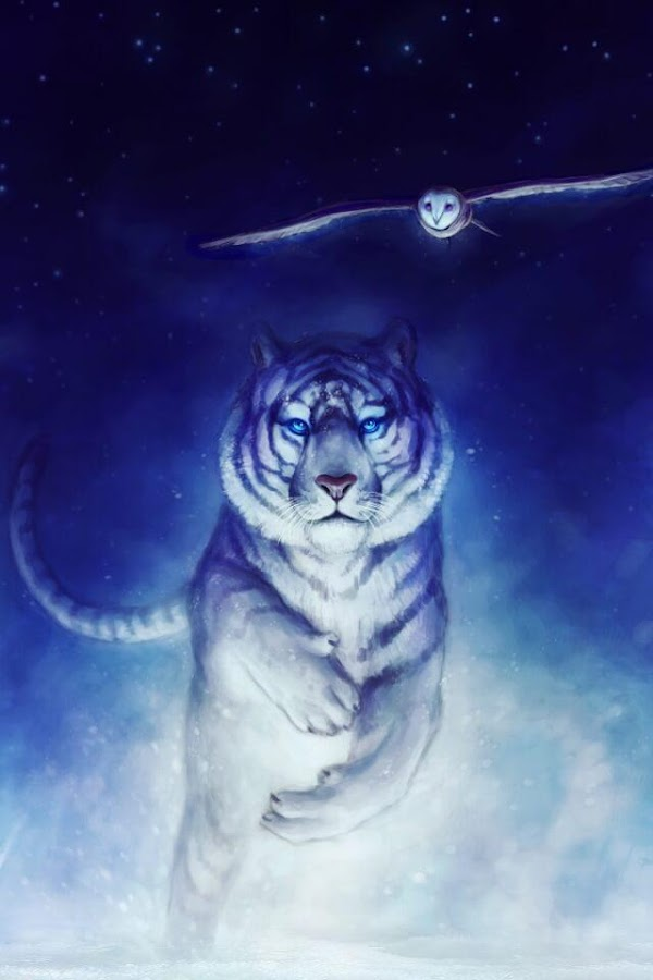 White Tiger Live Wallpaper 1 2 Android