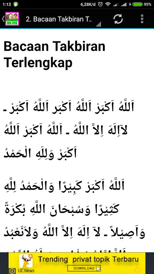 Teks Takbiran Idul Adha : takbiran, Download, Bacaan, Takbir