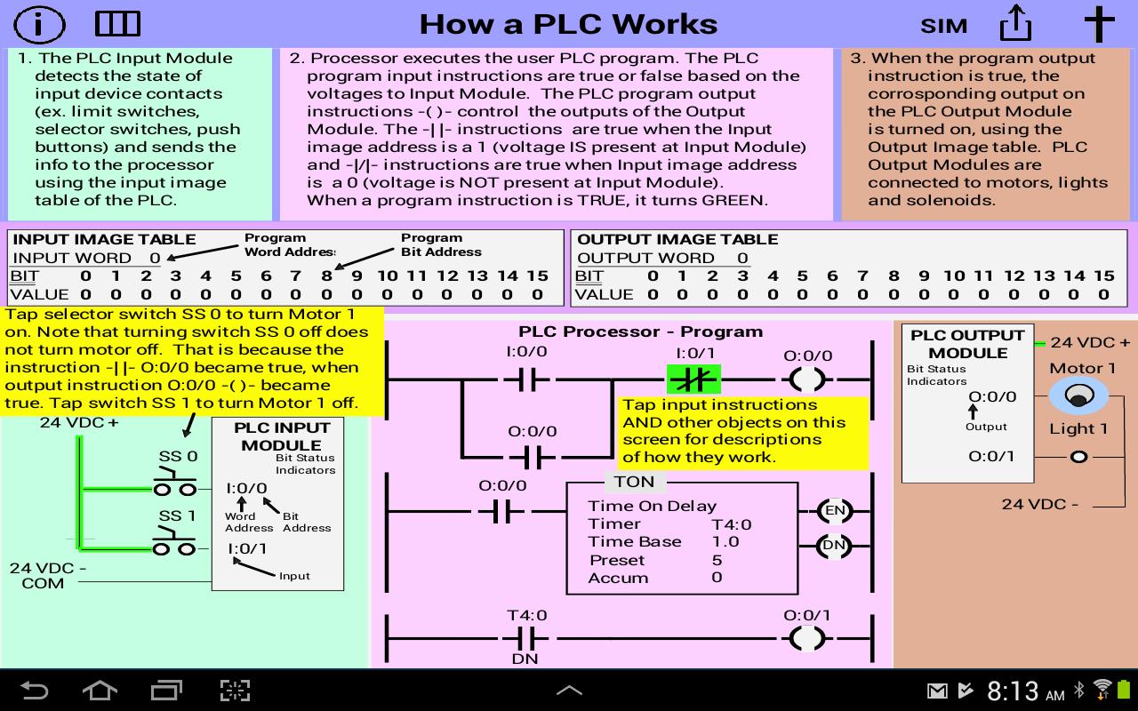 hight resolution of plc simulator mechatronics plc ladder logic plc 1 9 screenshot 1