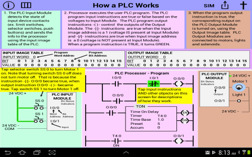 small resolution of plc simulator mechatronics plc ladder logic plc 1 9 screenshot 1