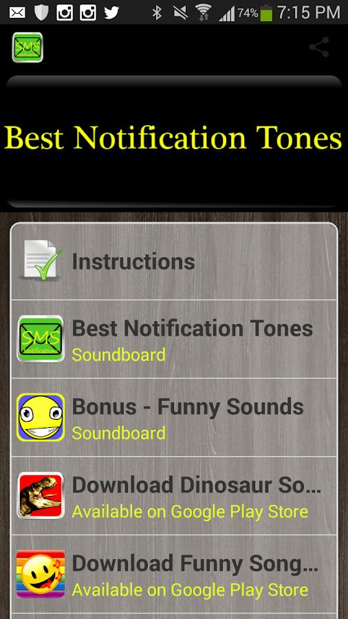 Best Notification Tones