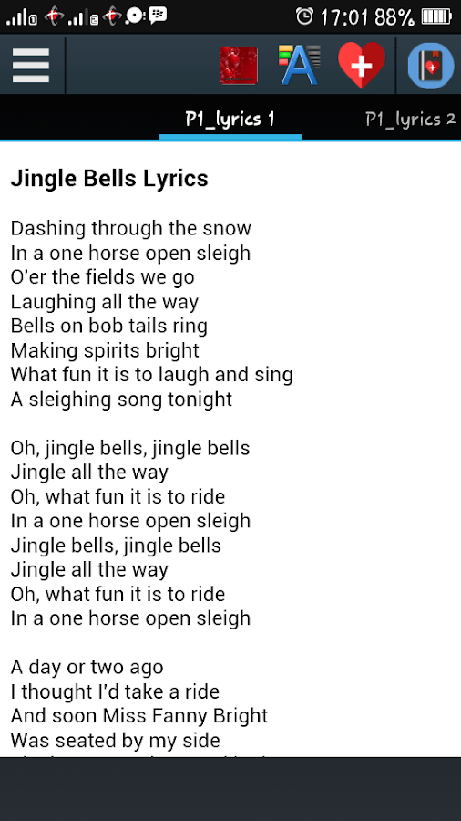 christmas carol song lyrics