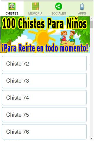 100 Chistes Para Niños 1.4 APK Download - Android Entertainment Apps