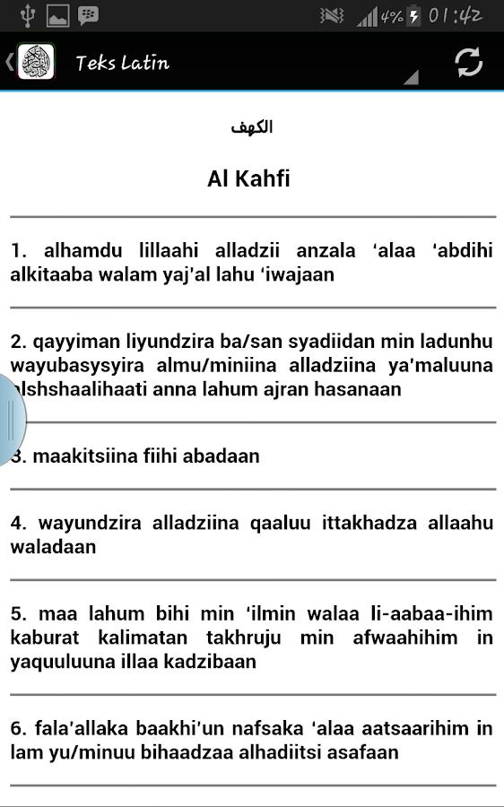 Surat Al Kahfi Ayat 1-10 Latin Dan Artinya : surat, kahfi, latin, artinya, Pertama, Terakhir, Surah, Kahfi, Latin, ••▷