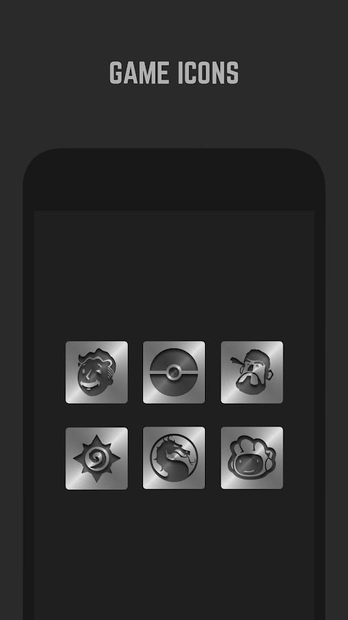 Metal Icon Pack  Screenshot