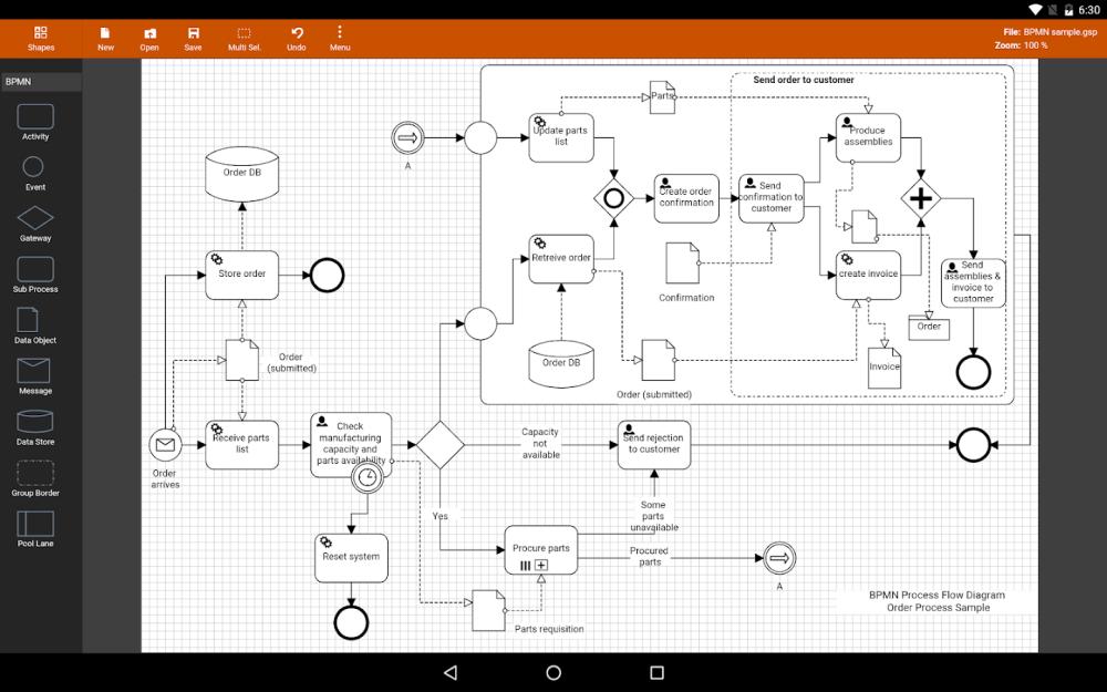 medium resolution of flowdia diagrams lite 1 8 3 screenshot 1