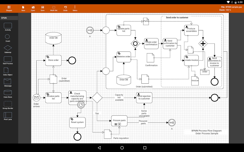 hight resolution of flowdia diagrams lite 1 8 3 screenshot 1