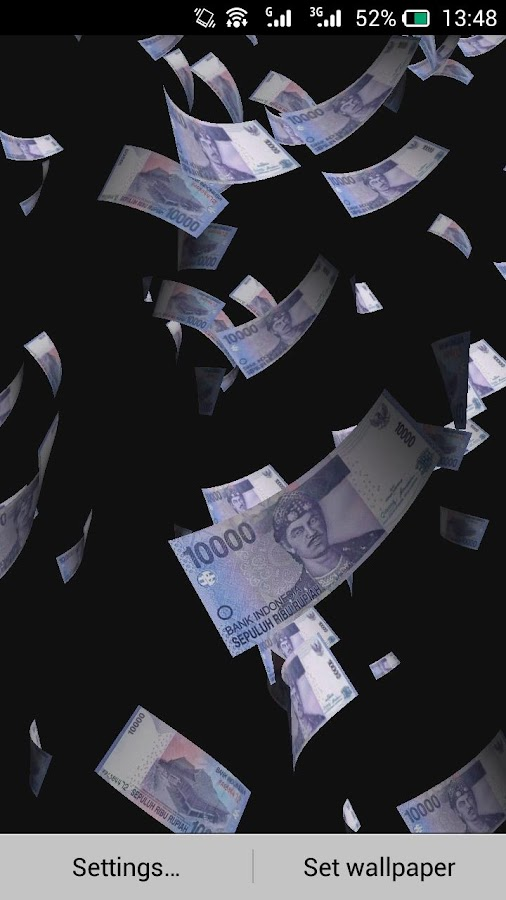 Falling Money Live Wallpaper Apk Money Rain Live Wallpaper 1 1 2 Apk Download Android