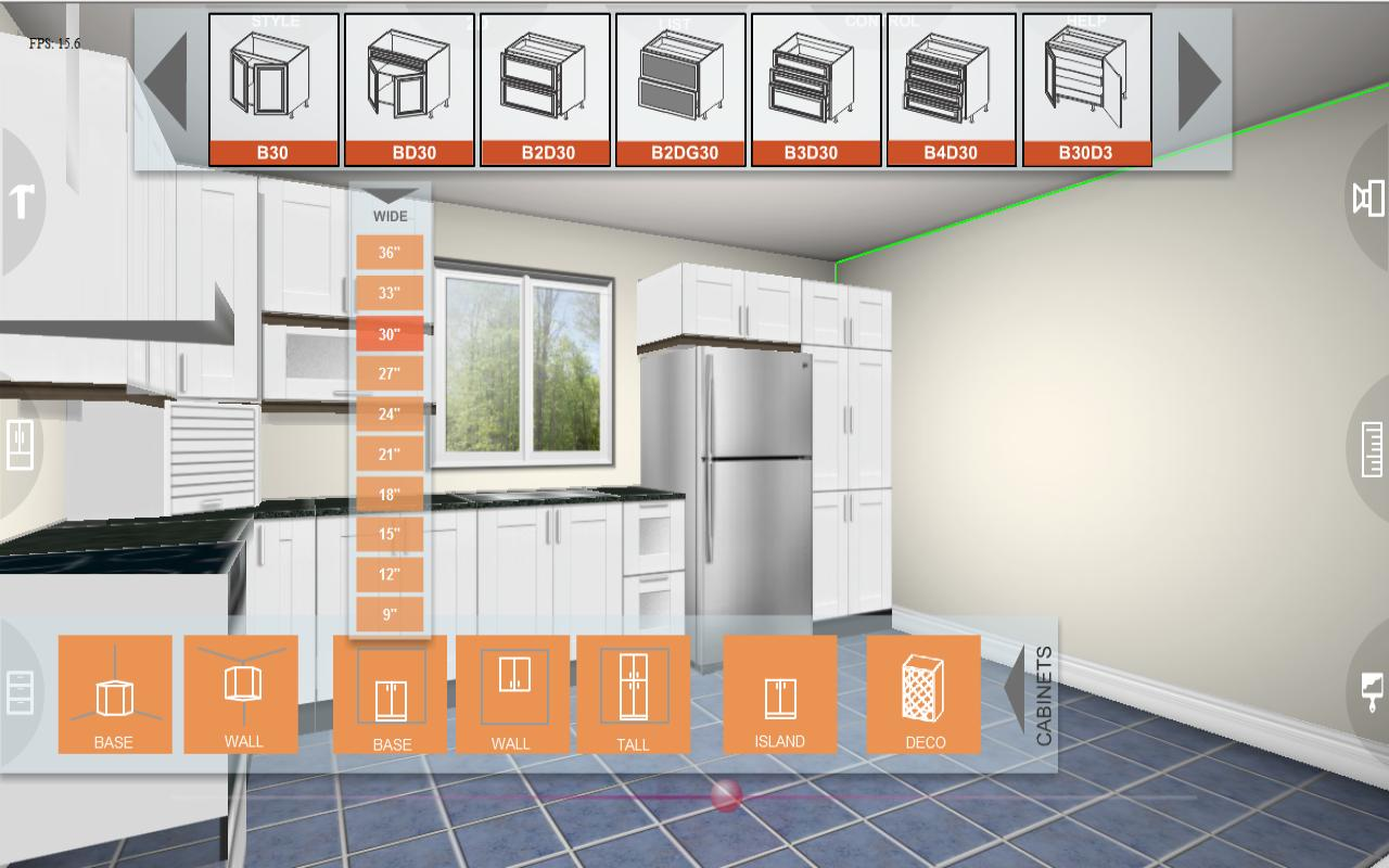 Kitchen Layout Tool App