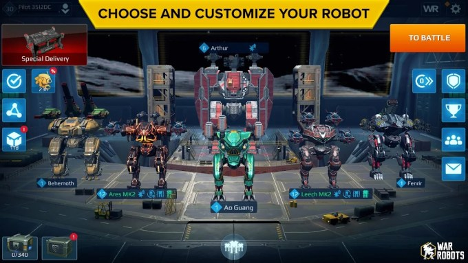 War Robots for android
