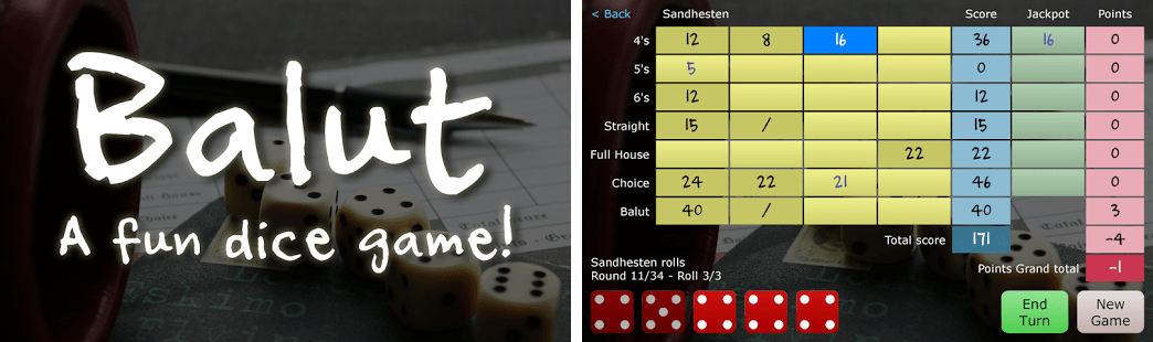Balut - A Fun Dice Game! Apk Download latest android version 1.1 ...