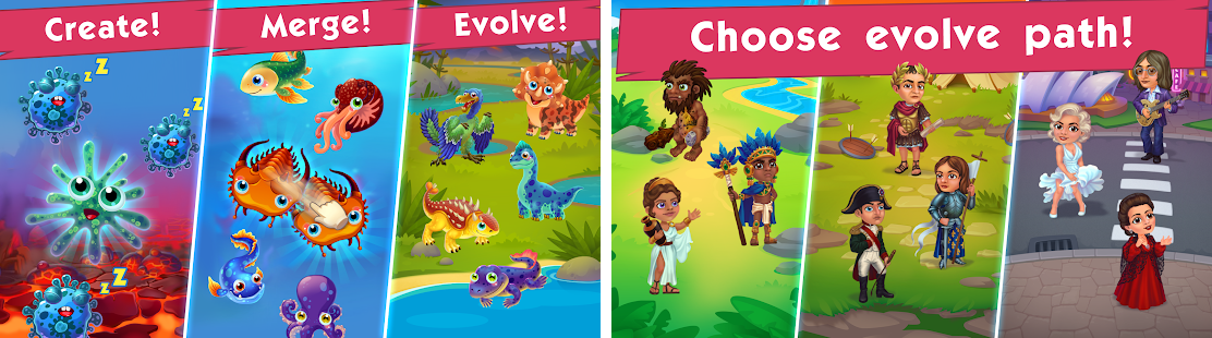 Game of Evolution: Idle Clicker & Merge Life Apk Download latest android version - com.EvoTApps.GameOfEvolution