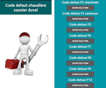 Code Defaut Chaudiere Saunier Duval Apk Download Latest Android Version Com Madou213 Chaudiresaunierduval