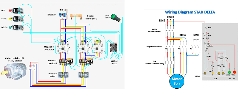 star delta wiring diagram motor 4 wire trailer troubleshooting apk download latest version 1 0 com learn basic app
