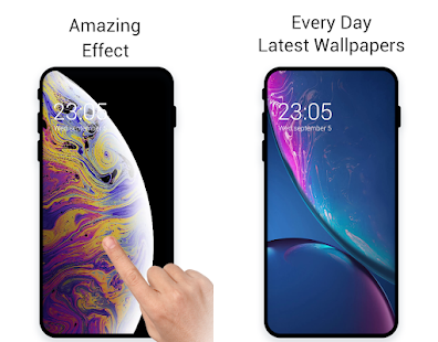 how to download iphone xr live wallpaper