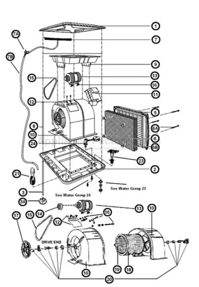 400-1076-0 • Breeze Air EXT155 • Cooler Parts World