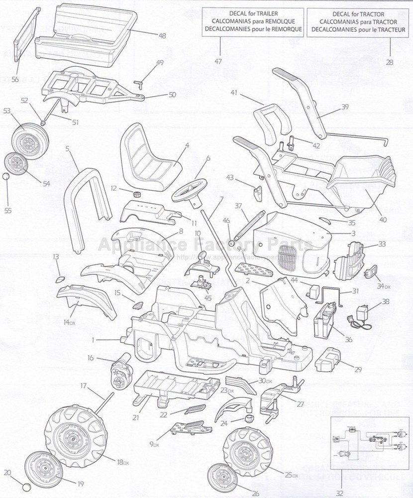 medium resolution of peg perego igor0012 parts for power wheels john deere gator wiring schematic peg perego john deere tractor wiring diagram
