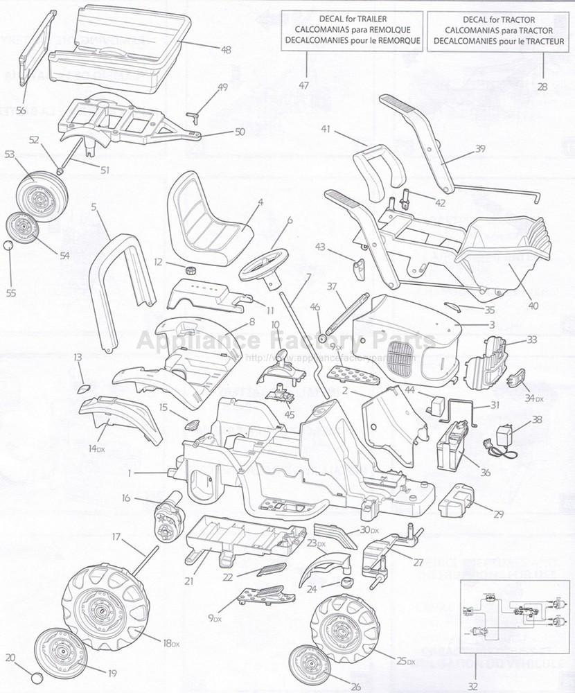 hight resolution of peg perego igor0012 parts for power wheels john deere gator wiring schematic peg perego john deere tractor wiring diagram