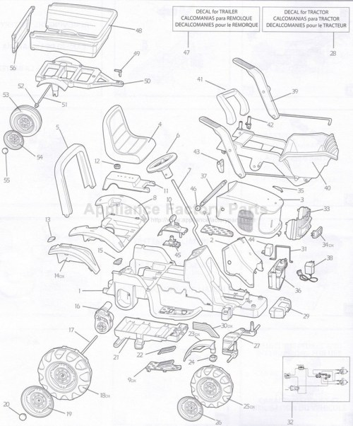 small resolution of peg perego igor0012 parts for power wheels john deere gator wiring schematic peg perego john deere tractor wiring diagram
