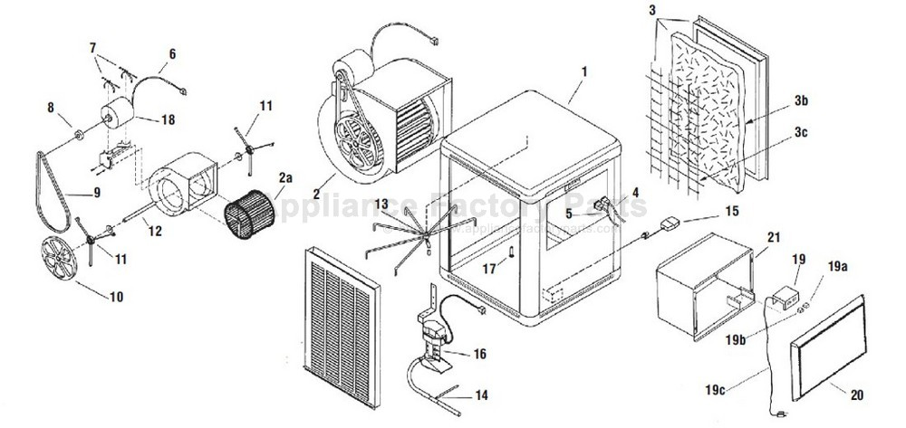 Brisa BW3500 • Cooler Parts World