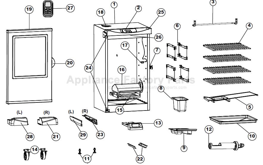 Masterbuilt 20075315 • BBQ Parts World