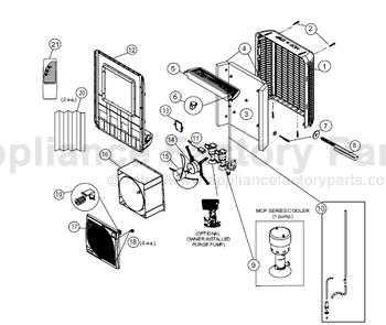 Mastercool MCP44 • Cooler Parts World