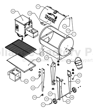 Traeger BBQ155.01 • BBQ Parts World