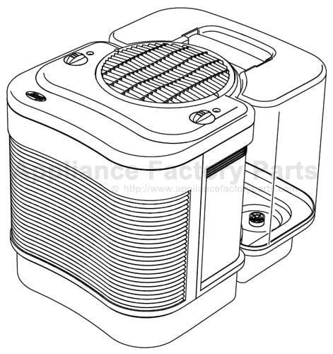 Hunter Carefree Humidifier Plus Niteglo Manual