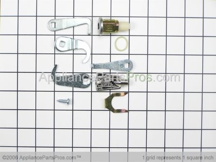 Frigidaire 5303925437 Freezer Door Lock Kit with Key